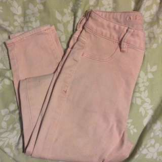 Pink American Eagle Size 0 Jeans