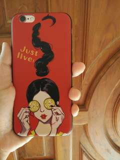 Softcase iphone 6/6s Import