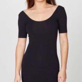 American Apparel Scoop dress