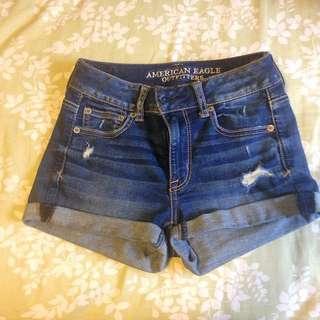American Eagle Shorts Size 0
