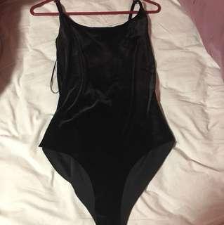 Zara Suede Body Suit
