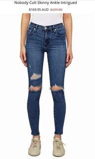 Nobody Cult Ripped Skinny Jean