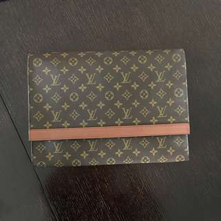 Louis Vuitton Monogram Pochette Enveloppe Document Case