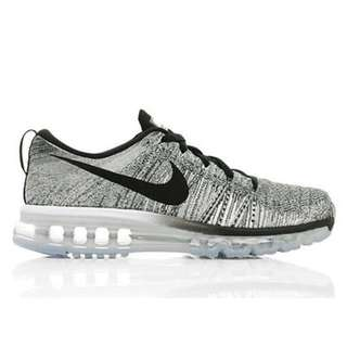 Nike Oreo Flyknit Air Max Shoes size 7