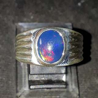 Black Opal Ethiopia ( High Quality) 925silver setting Self collection at hougang ave8 or Punggol Drive under my blk.