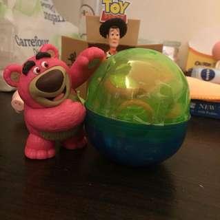 🚚 玩具總動員3 轉蛋 抱哥熊