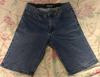 MG denim shorts for boys