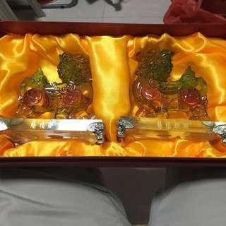 水琉璃麒麟(Qilin)