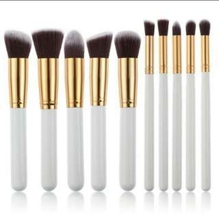 10pcs Make Up Foundation Brush Set