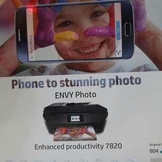 [全新] HP ENVY Photo 7820 All-in-One Printer (K7S10D)