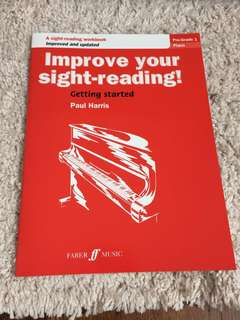Improve your sight-reading by Paul Harris-Piano