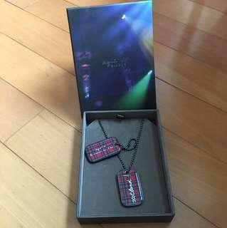 *減價* Agnis B Necklace Tag Set