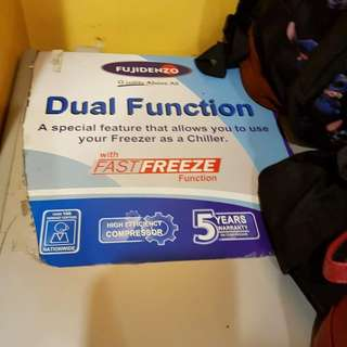 Fujidenzo Chest Freezer 7cu.
