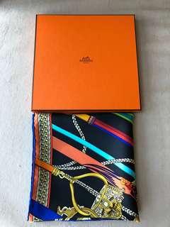 Hermes 90厘米方巾