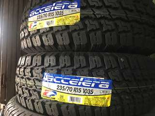235/70 R15 Accelera Made in Indonesia