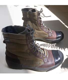 Authentic G-Star Raw Army Green Boots