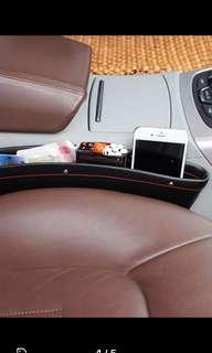 1 pair car seat storage or pocket