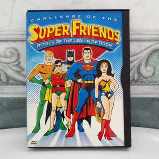 DVD Super Friends - Attack Of The Legion Of Doom