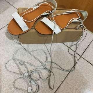 綁帶涼鞋 尺寸24