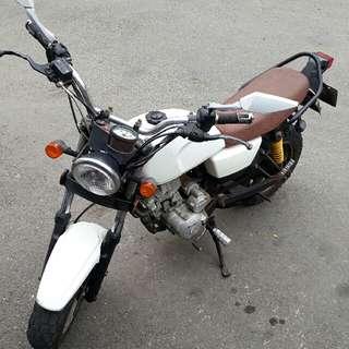 2008 哈特佛 小雲豹 125 化油版 白色