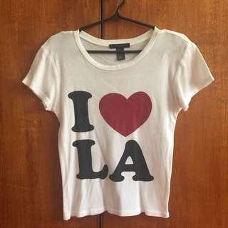 I LOVE L.A. CROP TOP