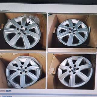 Rim Stock Polo 5x100 PCD 15inch alloy