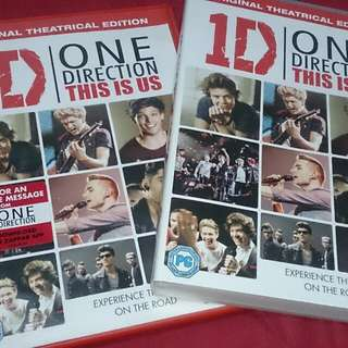 one direction / 1D dvd this is us original