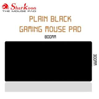 Black Rubber Gaming Mouse Pad / Mousepad