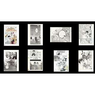 [EVENT PO] Jump Exhibition Fair 50th Anniversary Comic Drawing Clearfile