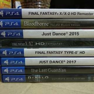 Final Fantasy X/X-2 Remaster with free steelbook PS4 GAMES