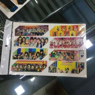 2PM & Girls Generation Plastic Bookmark