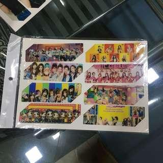2PM & Girls Generation Plastic Bookmark