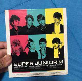 2nd Mini Album Repackaged - Super Junior M