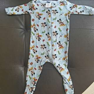 0 to 6 konths disney mickey mouse onesies frogsuits