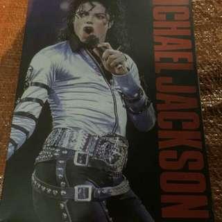 Michael Jackson Metal Plat
