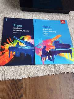 ABRSM Grade 1 scales & sight-reading /piano set