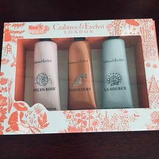[BN] Crabtree & Evelyn Hand Cream Set