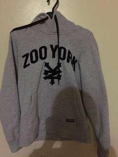 Zooyork hoodie used once (repriced)