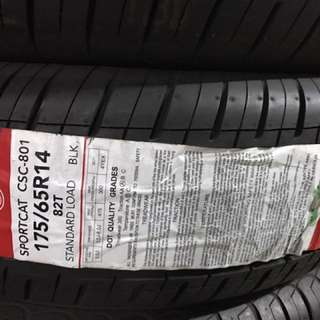 Tire for Vios 175/65R14
