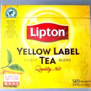 Lipton 立頓 Yellow Label 紅茶120包盒裝