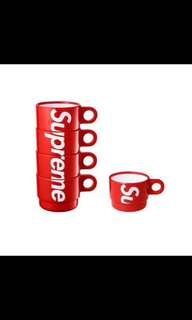 Supreme SS18 cups