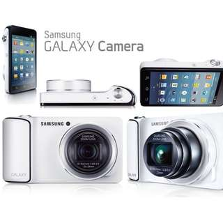 Samsung Galaxy Camera (with extra batteries & battery charger)