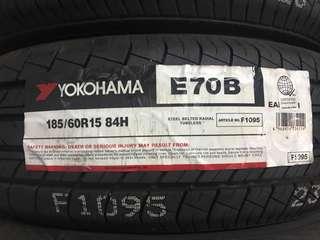 Yokohama 185/60 R15 Vios Tire