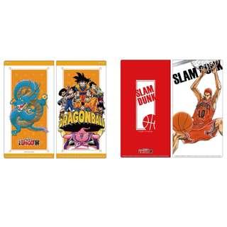[EVENT PO] Jump Exhibition Fair 50th Anniversary Slam Dunk / Dragon ball ticket Holder
