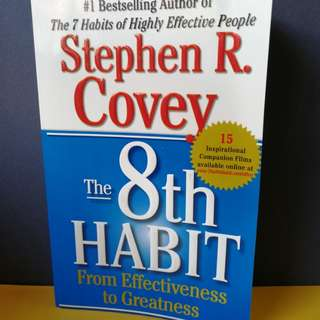 The 8th Habit_From Effectiveness to Greatness
