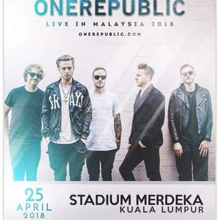 Concert Tickets For One Republic , GEM , and ETC