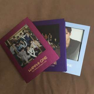 WANNA ONE ALBUMS AND PHOTCARDS