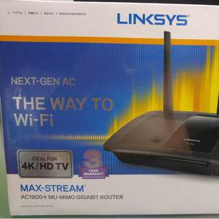 AC1900 MAX STREAM, MU MIMO GIGABYTES Dual Band HI SPEED Router
