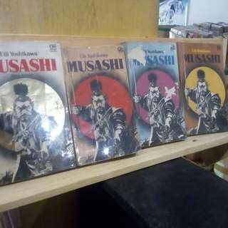 Buku Novel Musashi Eiji Yoshikawa