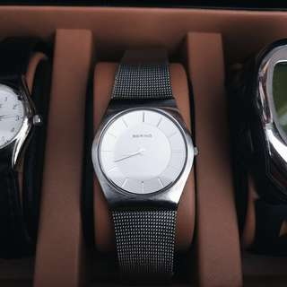 Authentic BERING watch stainless steel